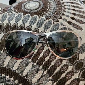 Chanel silver sunglasses